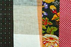 Винтажная предпосылка ткани Стоковые Изображения