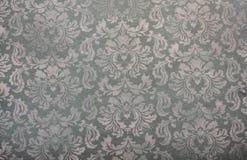 Винтажная предпосылка цветочного узора обоев Стоковые Фото