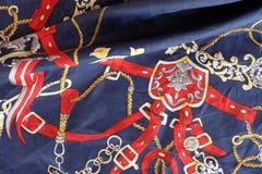 Винтажная предпосылка шарфа Стоковые Изображения