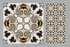 Винтажная плитка Стоковая Фотография RF