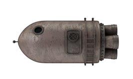 Винтажная ракета космоса Стоковая Фотография RF