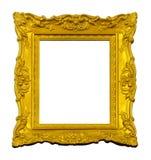 Винтажная рамка золота стоковые фотографии rf