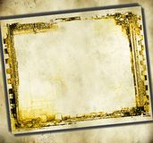 Винтажная рамка прокладки фильма Стоковые Фотографии RF
