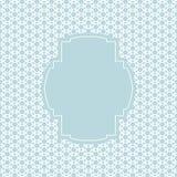 Винтажная рамка с предпосылкой кругов Стоковые Фотографии RF