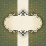 Винтажная рамка Стоковое Изображение RF