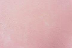 Винтажная розовая стена предпосылки цемента Стоковые Изображения RF