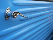 Винтажная рукоятка автомобиля конца-вверх Стоковые Фото