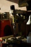 Винтажная сверля машина Стоковые Фото