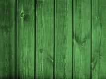 Винтажная старая зеленая предпосылка деревянного стола или стены Стоковое фото RF