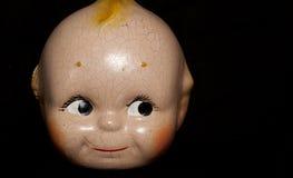Винтажная сторона куклы Стоковые Изображения RF