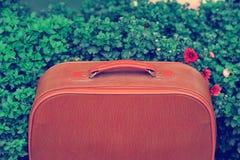 Винтажная сумка Стоковые Изображения RF