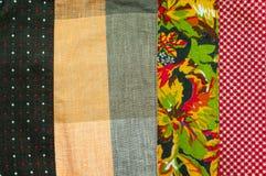 Винтажная текстура и предпосылка ткани Стоковые Фото