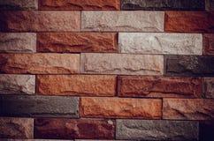 Винтажная текстура каменной стены песка и ackground украшают Стоковое Фото
