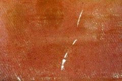 Винтажная текстура коричневой бумаги с scuffs и царапинами абстрактная предпосылка Стоковое Изображение RF