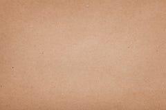 Винтажная текстура коричневой бумаги Стоковое фото RF