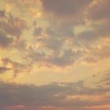 Винтажная текстура неба Стоковая Фотография RF