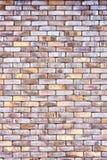 Винтажная текстурированная кирпичная стена шелушения Стоковое Фото