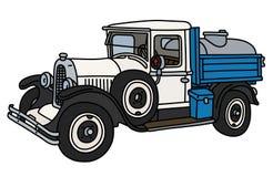 Винтажная тележка танка молокозавода Стоковые Фото