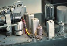 Винтажная трубка Amp одно стоковые изображения rf