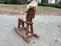 Винтажная тряся лошадь Стоковое Изображение