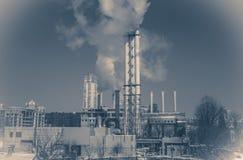 Винтажная фабрика фото стоковые фотографии rf