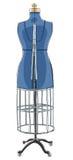 Винтажная форма платья акме с клеткой l провода бесплатная иллюстрация