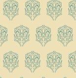 Винтажная флористическая картина предпосылки Стоковые Изображения RF