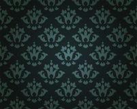 Винтажная флористическая картина предпосылки Стоковое фото RF