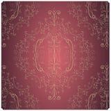 Винтажная флористическая текстура стоковые изображения rf