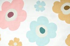 Винтажная флористическая ткань Стоковое Изображение RF
