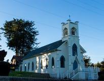 Винтажная церковь в тамале Калифорнии стоковая фотография