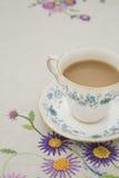 Винтажная чашка чая Стоковое Изображение