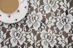 Винтажная чашка чая Стоковая Фотография