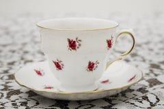 Винтажная чашка чая Стоковые Изображения RF