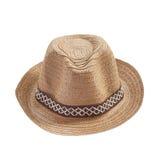 Винтажная шляпа weave Стоковое Изображение RF