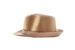 Винтажная шляпа weave Стоковое Изображение