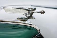 Винтажная эмблема автомобиля Стоковые Фотографии RF