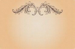 Винтажная эмблема Стоковые Фотографии RF