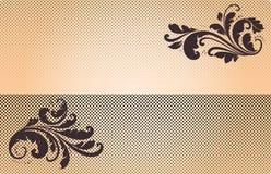 Винтажная эмблема Стоковое Изображение