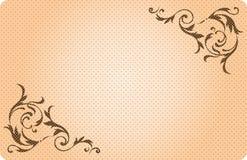 Винтажная эмблема Стоковая Фотография RF