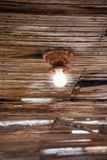 Винтажная электрическая лампочка Стоковые Фотографии RF