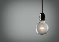 Винтажная электрическая лампочка Стоковое фото RF