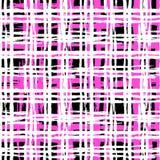Винтажная striped картина с почищенными щеткой линиями Стоковое Изображение RF