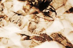 Винтажная waxy абстрактная предпосылка Стоковая Фотография