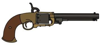 Винтажное американское личное огнестрельное оружие Стоковое фото RF
