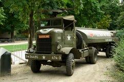 Винтажное военное транспортное средство Стоковые Фотографии RF