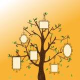 Винтажное дерево памятей Стоковые Фото