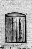 Винтажное деревянное окно стоковые фотографии rf