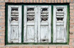 Винтажное деревянное окно стоковое фото rf