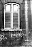 Винтажное здание в Trento Стоковое Изображение